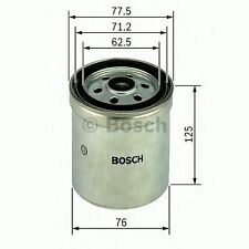 ENGINE FUEL FILTER OE QUALITY REPLACEMENT BOSCH 1457434432
