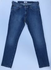WRANGLER LARSTON SLIM TAPERED LIGHT WASH DENIM RRP £69.99 FREE POSTAGE