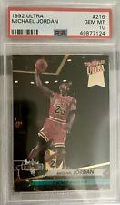 1992-93 Ultra Michael Jordan NBA Jam Session #216 PSA 10 GEM MINT BULLS HOF