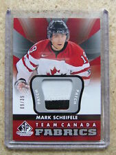 12-13 UD SPGU SP Game Used Team Canada Fabrics Patch #TC-19 MARK SCHEIFELE /35