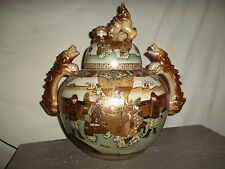 Satsuma grand brule parfum ancien, encensoir   Big censer Satsuma