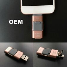 USB Flash Drive 64GB OTG Disk Storage Memory Stick for iPhone Android Samsung