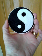Yin Yang - Martial Arts - Karate - Tai-Chi - Symbol - Iron On Patch - 3 1/4""