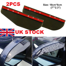 Universal Car Rear View Wing Mirror Sun Shade Shield Rain Board Eyebrow Guard LO