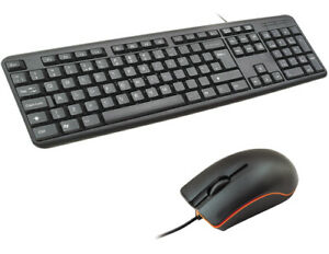 INFAPOWER MULTIMEDIA WIRED USB FULL-SIZE KEYBOARD AND OPTICAL MOUSE DESKTOP DUO