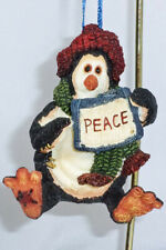 Boyds Wee Folkstone Ornament, Widdle Coldfin - Peace, #25804, New