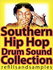 Southern Hip Hop Drums Wav Sounds Dirty South Rap Kits Samples 808 Drumma Boy CD