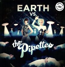 The PIPETTES Earth Vs The PIPETTES UK vinyl LP + MP3 SEALED/NEW