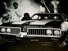 1969 Oldsmobile Cutlass 442 W-31 Print Ad-poster/sign/picture-Dr . Olds/W31/F85