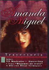 AMANDA MIGUEL Trayectoria DVD NEW Original with DIEGO VERDAGUER clips En Vivo