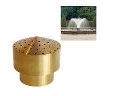 DN40 Copper Fireworks Fountain Nozzle Column Garden Pond Spray Sprinkler Head