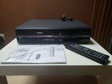 MAGNETOSCOPE LECTEUR ENREGISTREUR GRAVEUR DVD VHS CASSETTE K7 TOSHIBA RD-XV45