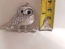 Fashion Jewelry Owl Pendant necklace