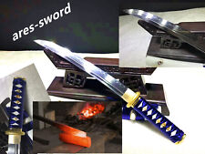 1095 High Carbon Steel clay tempered battle ready sharp Japanese samurai sword