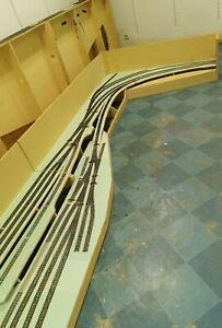Modellbahnanlagen H0 im Rohbauzustand