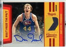 Dan Issel Autograph Jersey Patch 2009-10 Panini Classics Blast from the Past