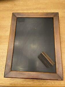 Vintage Chalkboard Cabinet Message Center