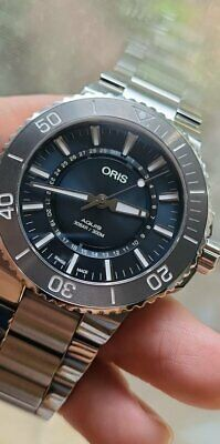 Oris Aquis Source of Life - Limited Ed Watch - 43.5mm, Stainless Steel Bracelet