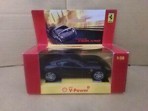 Hotwheels Shell V-Power - Ferrari 599 GTB Fiorano. 1/38 Scale. c2006. VGC.