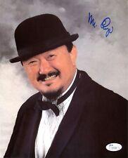 Rare Mr Fuji Signed Autograph 8x10 Wrestling Photo JSA COA
