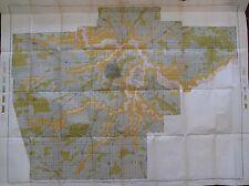 Color Soil Survey Map Sangamon Co. Illinois Springfield New Berlin Pawnee 1903