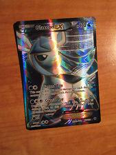 EX FULL ART Pokemon GLACEON EX Card FATES COLLIDE Set 116/124 XY X Y Ultra Rare
