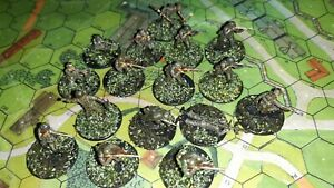 German WW2 infantry, 1/72 scale, 20mm, painted figures