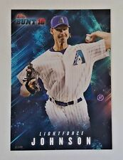 "2016 TOPPS BUNT RANDY JOHNSON ""LIGHTFORCE"" 5X7 JUMBO ART CARD #/49 DBACKS"