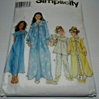 SIMPLICITY 8488 CHILD'S AND GIRL'S SLEEPWEAR SIZE (3,4,5,6)