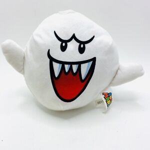 Super Mario Bros Boo Ghost Plush Doll Soft Toy Figure 8 inch