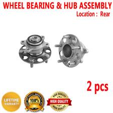 2pcs REAR Wheel Hub & Bearing Assembly for HONDA CIVIC 2006-2011 L4 1.8L