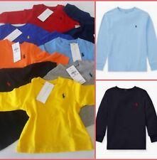 Ex Store Boys Long Sleeve Smiley Emoji Black Grey Winter Top T-Shirt 2 3 4 5 6