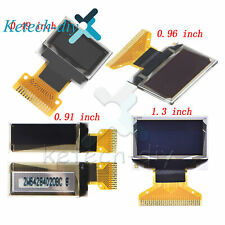 "0.49""/0.91""/0.96""/1.3"" IIC I2C/SPI OLED LCD Display SSD1306 for Arduino L2KD"