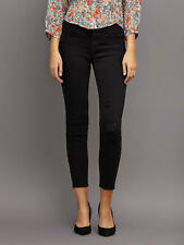 RRP £230 - J Brand Crop Mid Rise Capri Jeans, Exposure Black, W29 UK 12