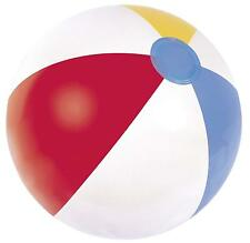 16 inch Panel Beach Ball in White Color
