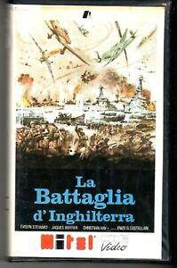 La Battaglia d' Inghilterra (1969) VHS Mitel 1a Ed. Renzo Palmer Luigi Pistilli