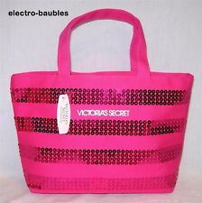 Victoria's Secret PINK Sequins Tote Bag New With Tags