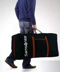 NEW Samsonite Tote-A-Ton Black Huge Big Light Travel Storage Duffle Luggage Bag