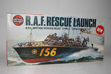 Airfix British Military R.A.F. Rescue Launch Boat, 1:72 SCALE, BOXED