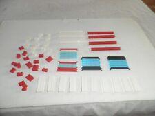 Lego : lot porte coulissante pour garage,police ,pompier et autre
