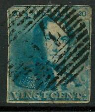 BELGIUM - BELGIO - 1849 - Re Leopoldo I (1790 - 1865, reg. 1831) - 20 cent. azz.