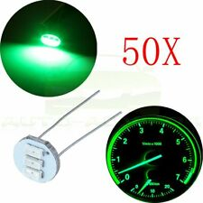 50 Pack 4.7mm Green LED Back Light For GM Cluster Speedometer Climate Control