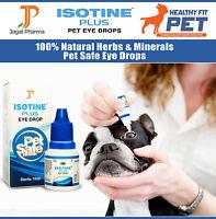 Best DOG/CAT Eye Drops Cataract, Glaucoma, Non-Carnosine (NAC), Ethos Cataracts.