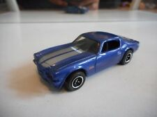 Matchbox Chevrolet Camaro Z-28 in Blue