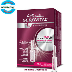 Gerovital H3 Evolution Hyaluronic Acid ampoules (10 x 2 ml) Anti-age