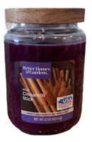 Better Homes & Gardens SPICY CINNAMON STICK Single-Wick 22 oz. Jar Candle