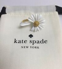 Kate Spade Into The Bloom Daisy Petal Ring Size 7 w/ KS Dust Bag