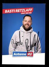Basti Retzlaff Autogrammkarte Original Signiert # BC 110145