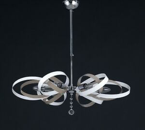 Hanging Modern Chandelier Chrome Colorful Colors Combined a To