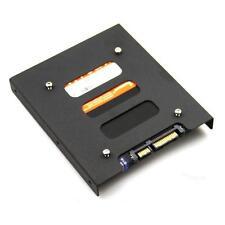 """PC Festplatten Einbaurahmen Wechselrahmen 2,5"""" SSD HDD zu 3,5""""Mounting Adapter"""